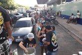 Ação de doação de sopas no hospital municipal (Foto: Ira Jovem Santarém/Divulgação)