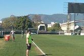 Donizete em evento do 'Jogue na Colina' (Foto: Twitter oficial do Vasco/ Reprodução)