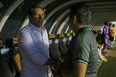 Luxemburgo e Ney Franco (Foto: Rafael Ribeiro/Vasco.com.br)