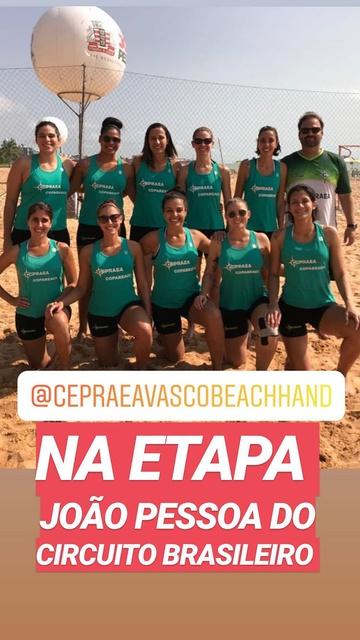 Print do stories do CEPRAEA/Vasco Beach Hand