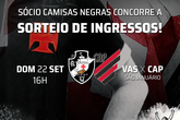 Ingressos (Foto: Twitter Oficial do Vasco)