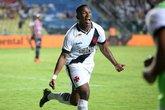Ribamar comemora gol contra o Serra (Foto: Carlos Gregório Jr./Vasco.com.br)