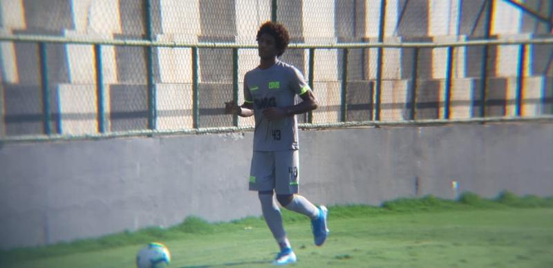 Talles voltou a treinar com os outros jogadores do Vasco na tarde desta quinta-feira