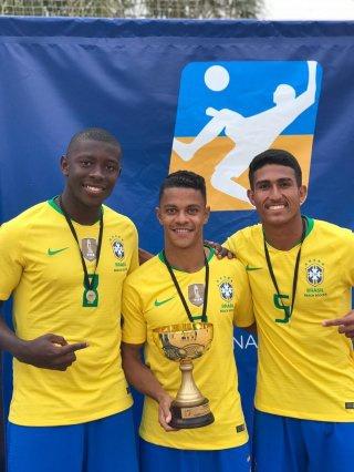 Vascaínos na Seleção Brasileira de Beach Soccer