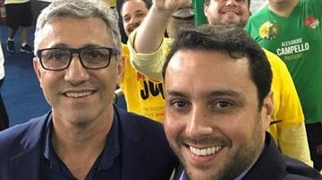 Alexandre Campello e Julio Brant podem se alinhar na reunião no CD do Vasco