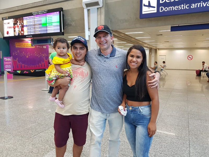 Raylson, de Patos na chegada ao Rio de Janeiro