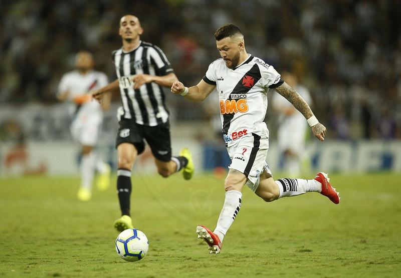 Rossi em ação contra o Ceará