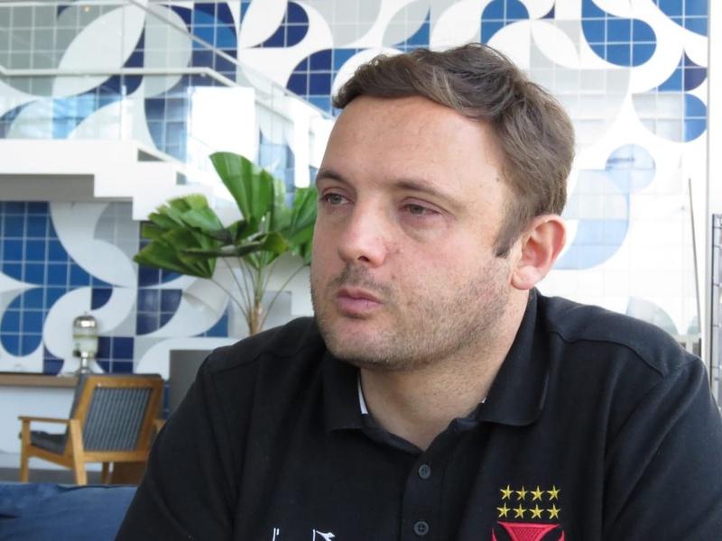 André Mazzuco, diretor executivo de futebol do Vasco