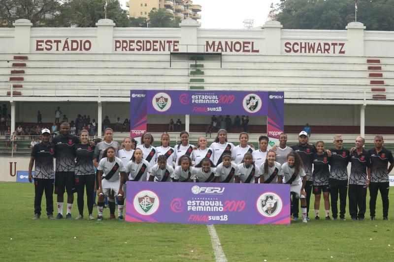 Elenco campeão carioca Sub-18