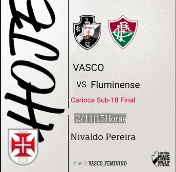 Feminino Sub-18: Vasco x Fluminense