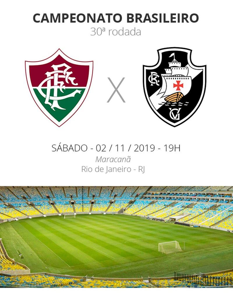 Ficha Técnica - Fluminense x Vasco