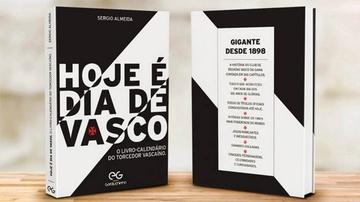 O livro-calendário é resultado de uma exaustiva pesquisa sobre a história do Vasco