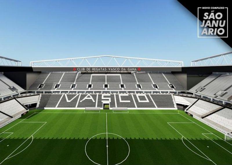 Projeto do renovado estádio vascaíno, com ajuda de investidor estrangeiro