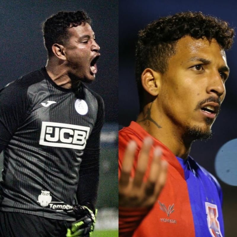 Gabriel Félix e Caio Monteiro