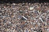 Torcida do Vasco comparece em peso ao Maracanã (Foto: André Durão)