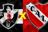 Vasco x Independiente (Foto: Reprodução Internet)