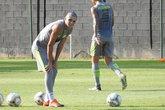 Gabriel Pec impressionou Abel Braga nos primeiros treinos (Foto: Fred Gomes)