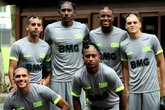 Jogadores (Foto: Carlos Gregório Jr / Vasco)