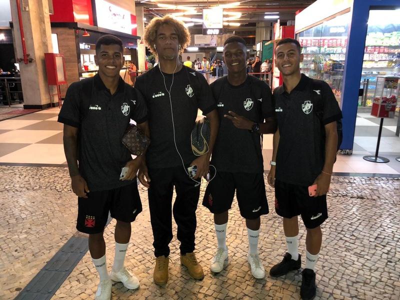 Saulo, MT, Rodrigo Gaia e Pedrinho viajaram para Itapira na noite desta quarta-feira