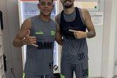 Hygor Moraes e Ricardo Graça (Foto: Reprodução/Twitter de Hygor Moraes)