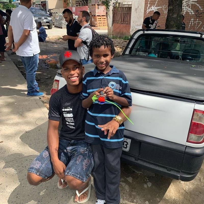 Juninho e seu irmão