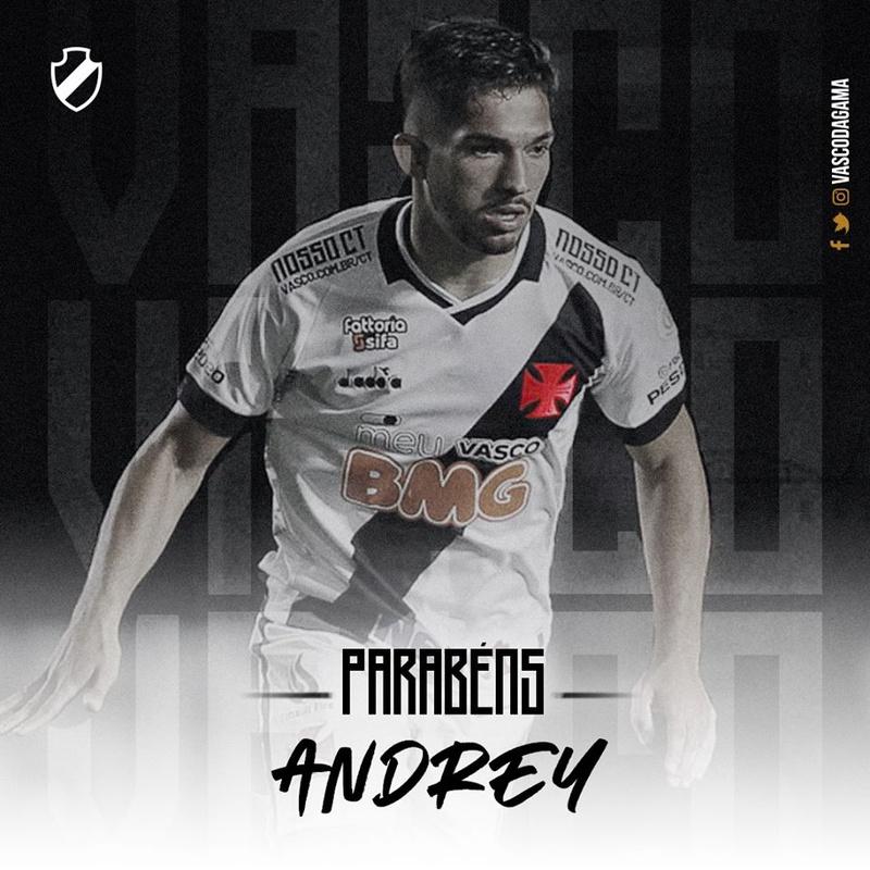 Parabéns Andrey
