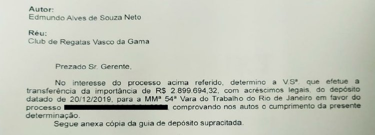 Processo: Edmundo