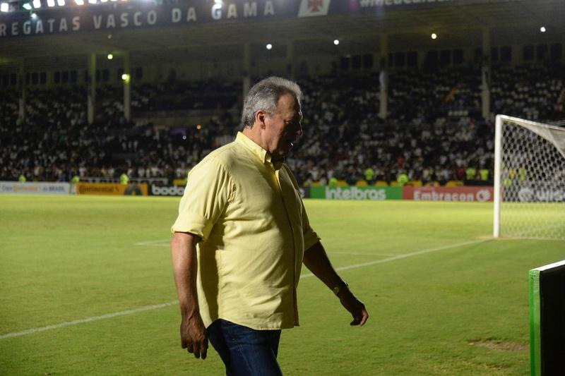 Abel Braga, técnico do Vasco, após derrota para o Goiás