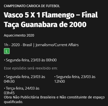 Jogos do Vasco