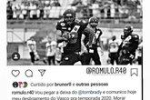 Romulo/Futebol Americano (Foto: Instagram do jogador Romulo)