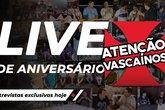 UM ANO! CANAL FAZ ANIVERSÁRIO E COMEMORA COM RESENHA #AtençãoVascaínos (Foto: Canal Atenção, Vascaínos!/Reprodução)