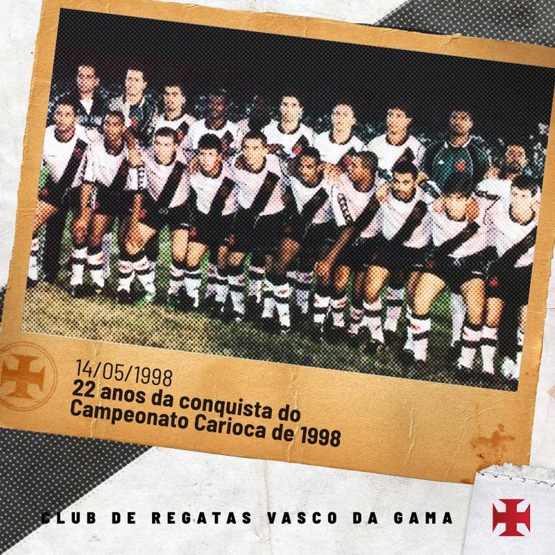22 anos da conquista do Carioca no centenário