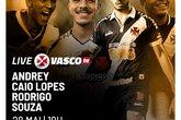 Live (Foto: Twitter Oficial do Vasco)