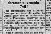 Vasco 7 x 0 Flamengo, 1931 (Foto: Pinterest)