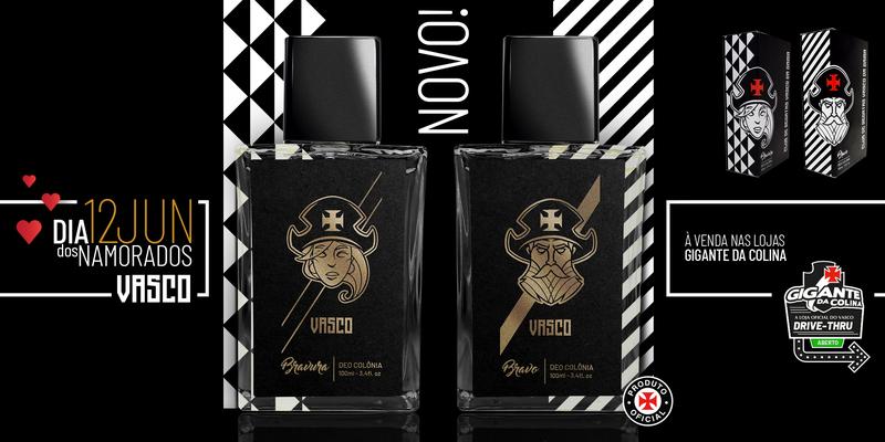 Linha oficial de cosméticos do Vasco