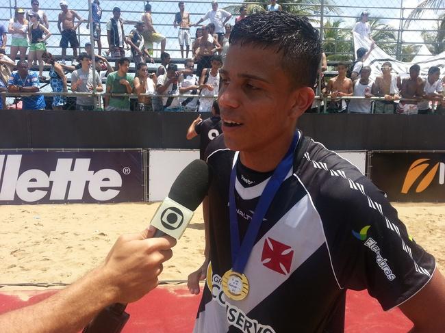 Mauricinho foi artilheiro do Circuito Brasileiro, com oito gols