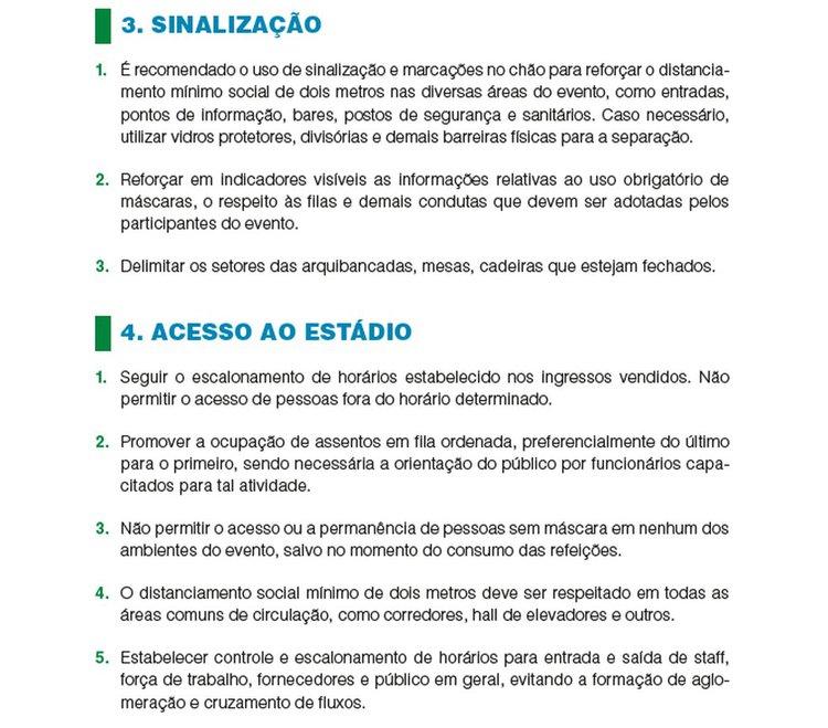 Regras de ouro para jogos com público no Rio de Janeiro 2