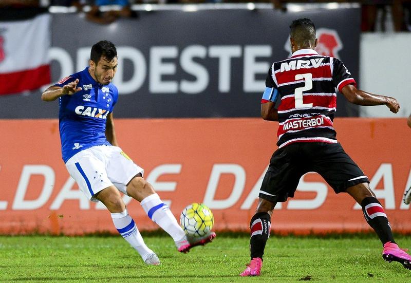 Sanchez Miño quando atuou pelo Cruzeiro