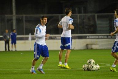Seleção argentina em São Januário
