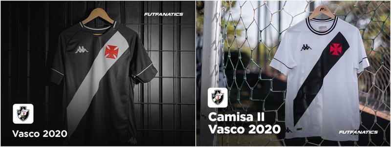Camisas do Vasco