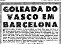 Goleada Vasco sobre o Barcelona