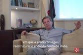 Jorge Salgado anuncia que será candidato à presidência do Vasco (Foto: Reprodução)