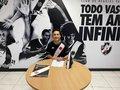 Kauã Lucas assinou primeiro contrato profissional com o Cruzmaltino