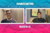 Live Ricardo Rocha e Jardel (Foto: Reprodução)
