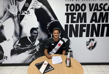 Lucas Meirelles assinou contrato até julho de 2023