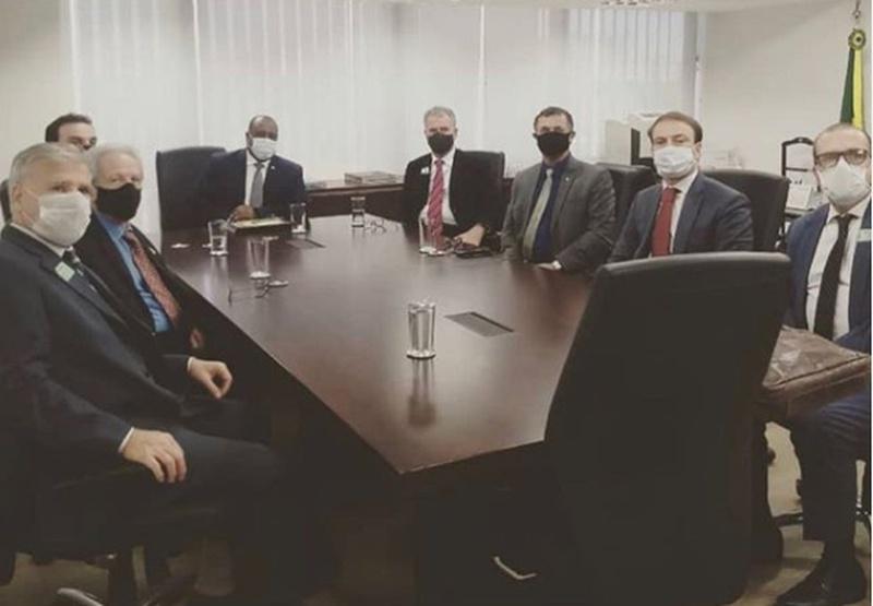 Alfredo Sampaio, presidente do Saferj, se reúne com representantes do Governo