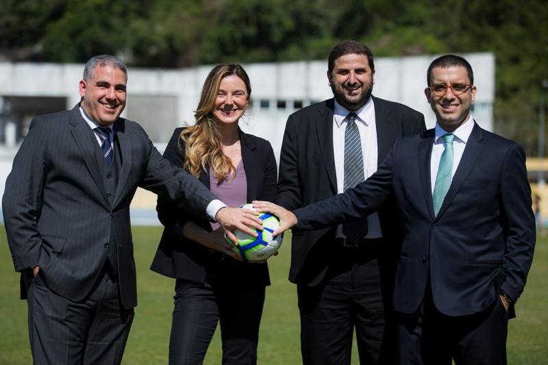 Bernardo Leal (Flu) André Galdeano (Fla) Roberta Fernandes (Flu) e Fernando Lamar (Vasco)