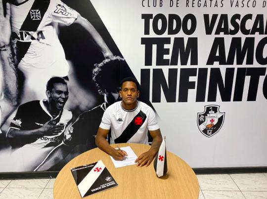 Carlos Yuri assinou até 2022