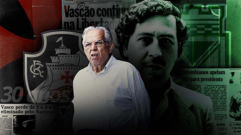Eurico e Escobar estiveram em lados opostos em 1990