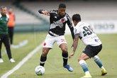 Ygor Catatau em ação contra o Coritiba (Foto: Rafael Ribeiro/Vasco.com.br)
